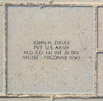 Ziriax, John H. - VVA 457 Memorial Area B (204 of 222) (2)
